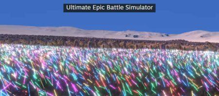 Ultimate Epic Battle Simulator 20000 Jedi Vs. 3000 T Rex