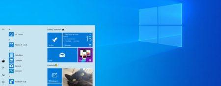 Windows 10 new Build 18298