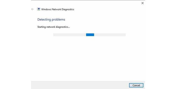 Windows Network Diagnostics