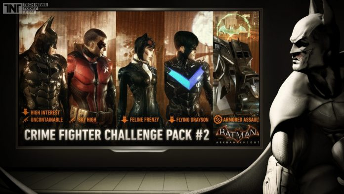 batman-arkham-knight-upcoming-dlc-crime-fighter-challenge-pack-2-announced