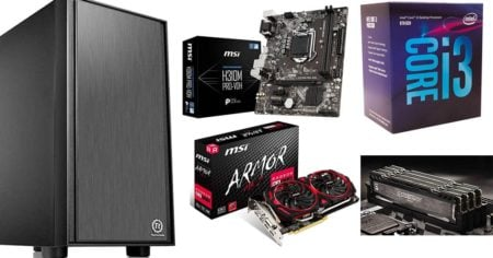 gaming pc under 500$
