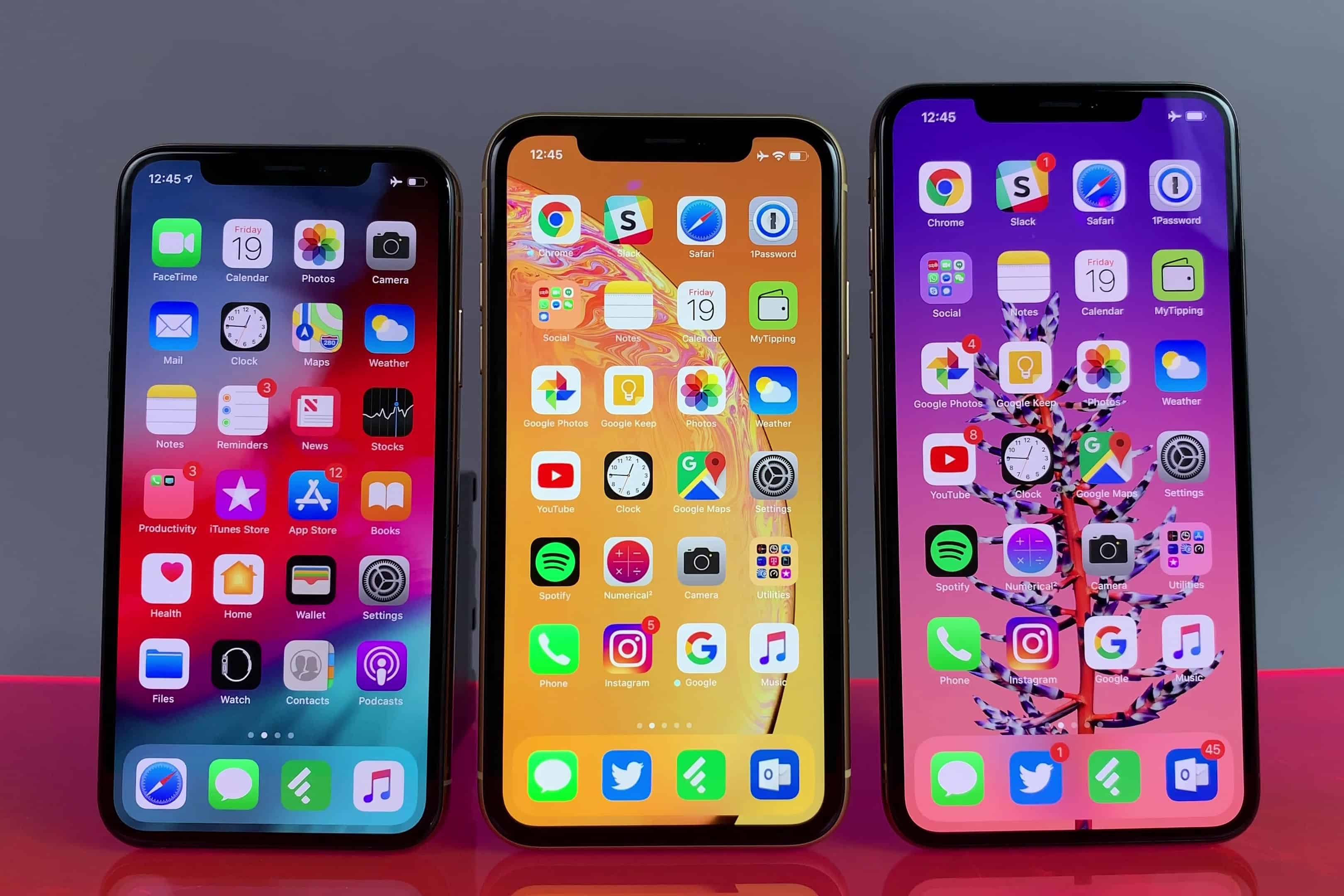 iPhone 2018 lineup