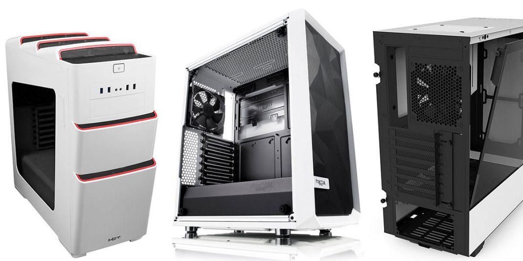 the White PC Case