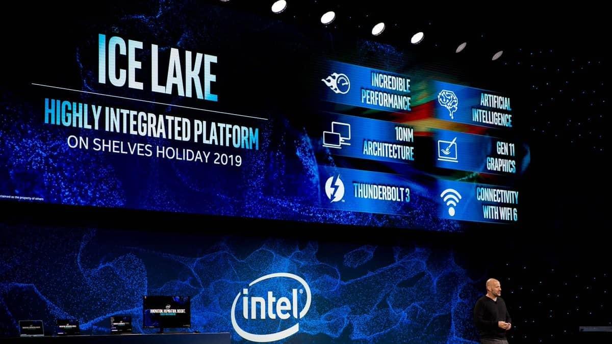 Intel 10nm Ice Lake chips