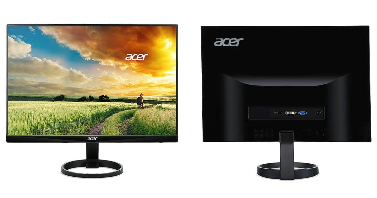 ACER R240HY 23.8″ Monitor – Most Affordable Monitor