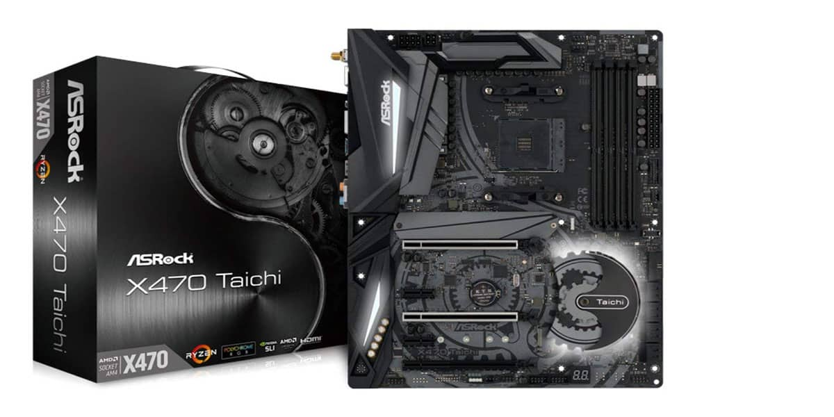 ASRock X470 Taichi – Best Overall