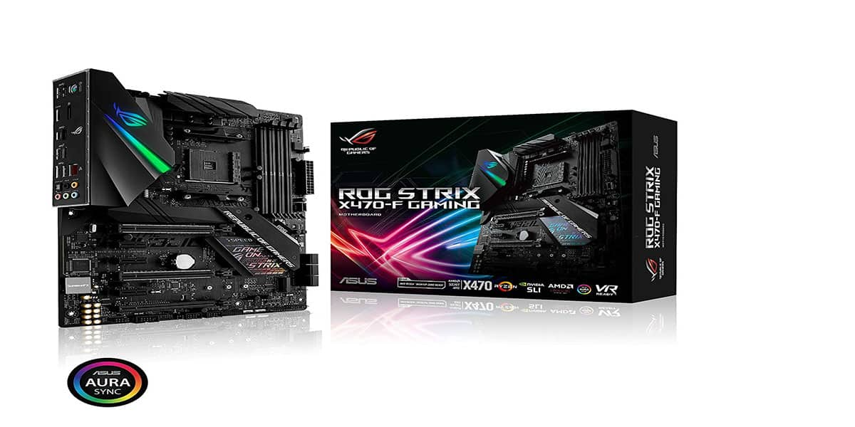 ASUS ROG Strix X470-F - Best X470 Motherboard for Overclocking