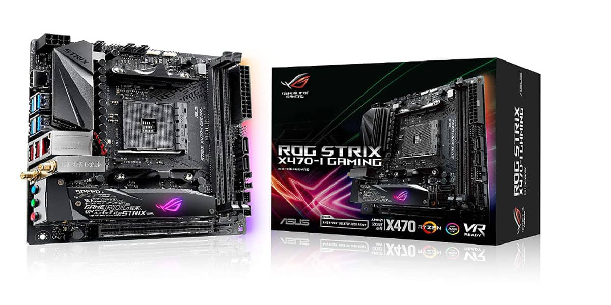 ASUS ROG Strix X470-I – Best runner-up Mini-ITX motherboard