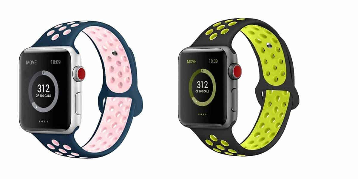 AdMaster's silicone bands for the Apple Watch
