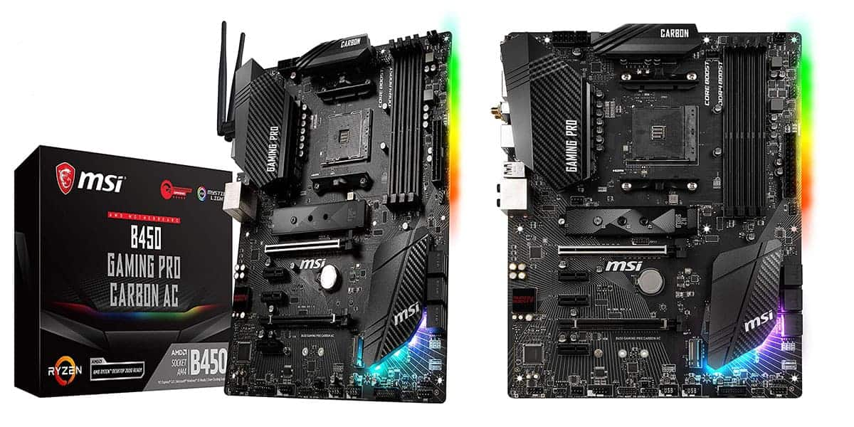 Best AMD B450 Motherboard – MSI B450 Gaming Pro Carbon AC