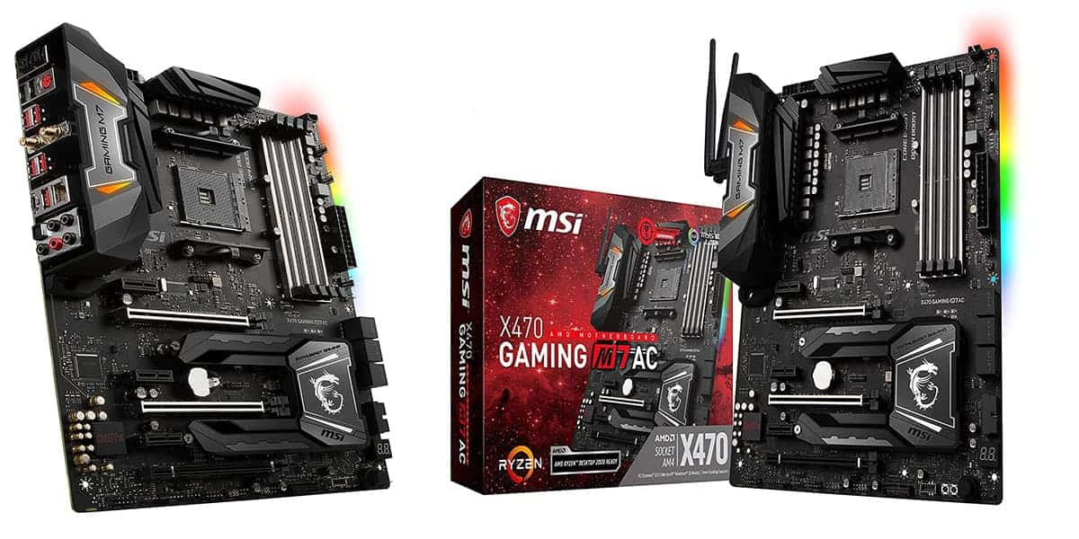 Best AMD X470 Motherboard – MSI X470 Gaming M7 AC