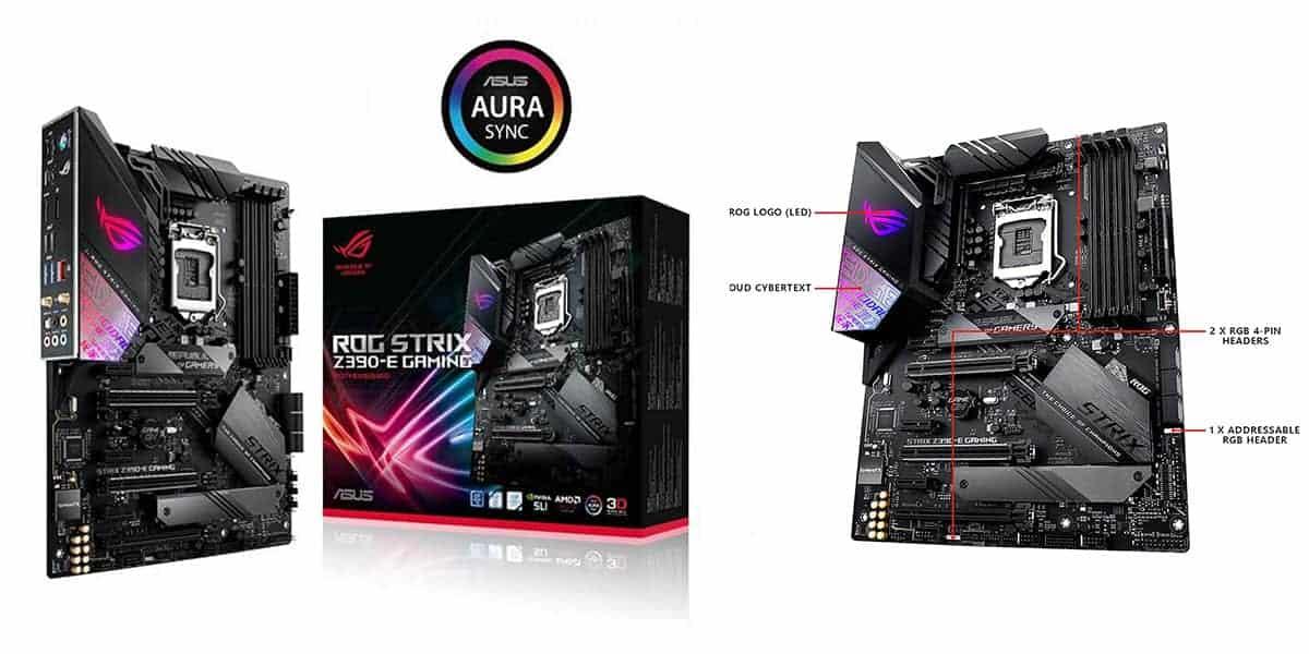 Best ASUS RGB Motherboard – Asus ROG Strix Z390-E