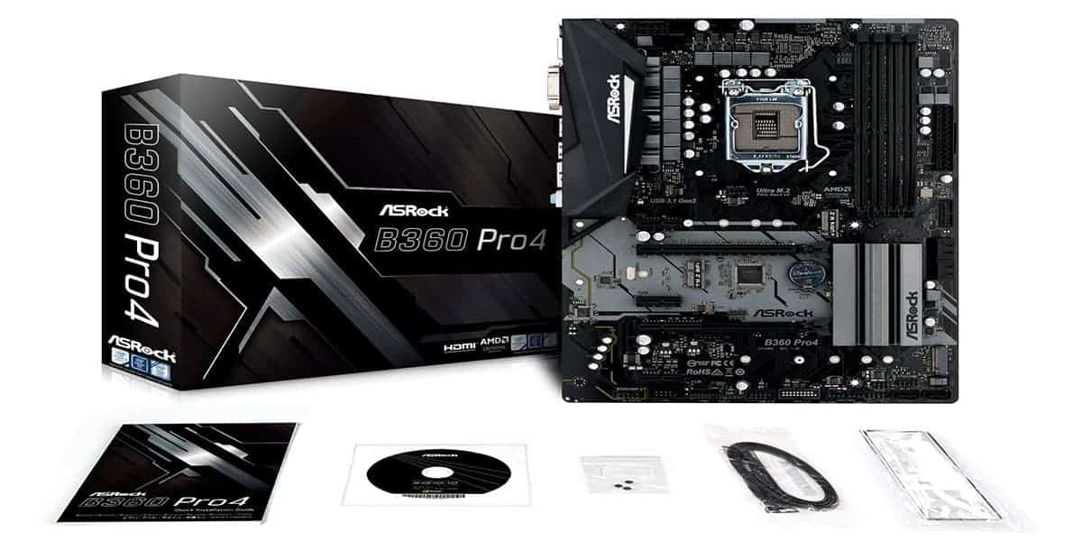 Best Budget ATX Motherboard – ASRock B360 Pro4