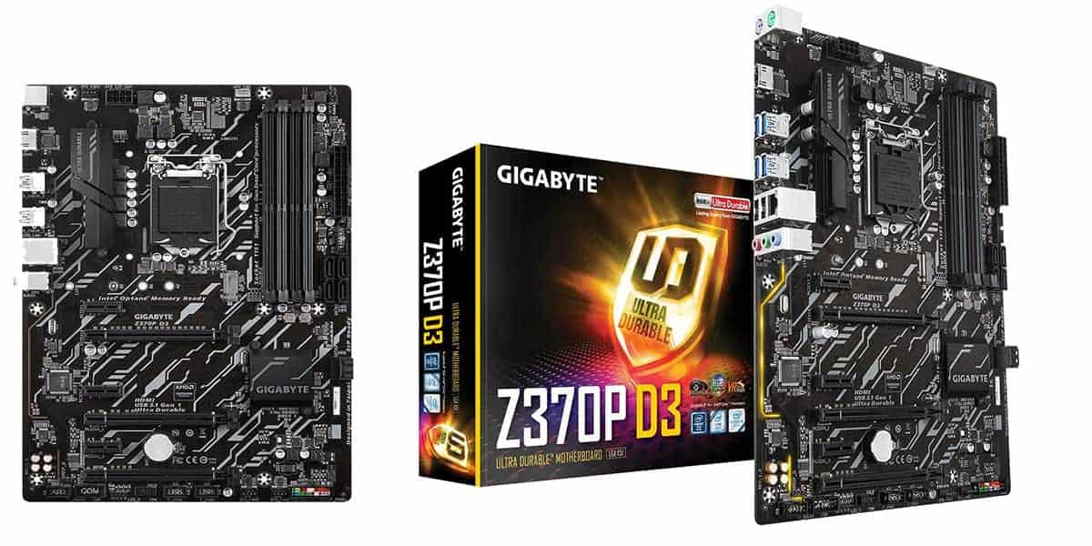 Best Gaming ATX Motherboard – Gigabyte Z370P D3