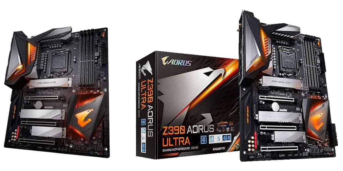 Best Gigabyte RGB Motherboard – Gigabyte Z390 AORUS Ultra