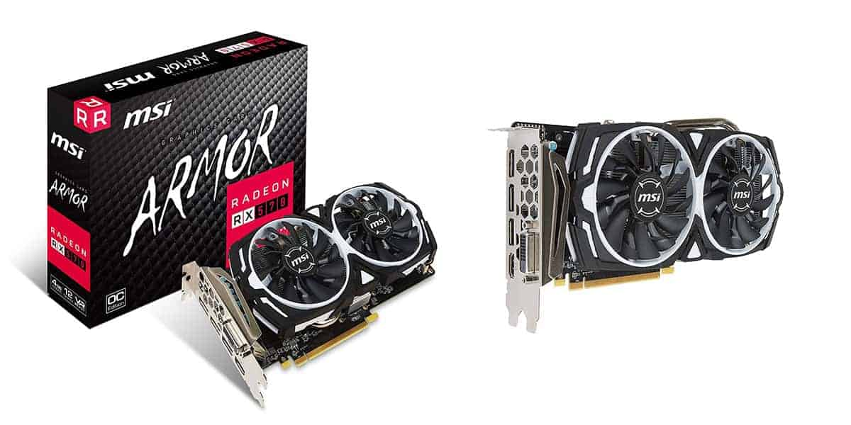 Best Graphics Card Under $200 – RX 570