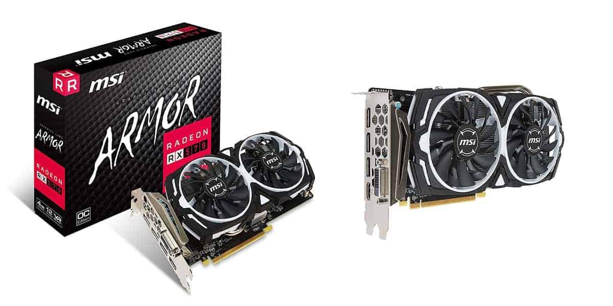 Best Graphics Card Under $200 – RX 570