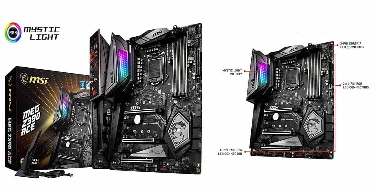 Best MSI RGB Motherboard – MSI MEG Z390 ACE
