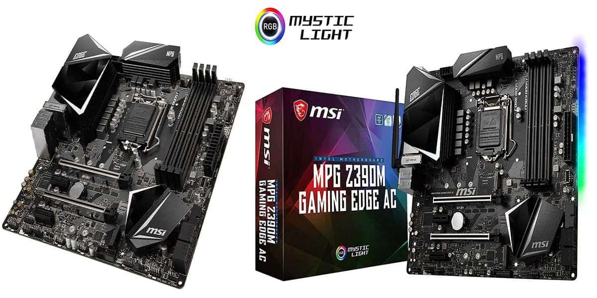 Best Micro ATX RGB Motherboard – MSI MPG Z390M Gaming Edge AC