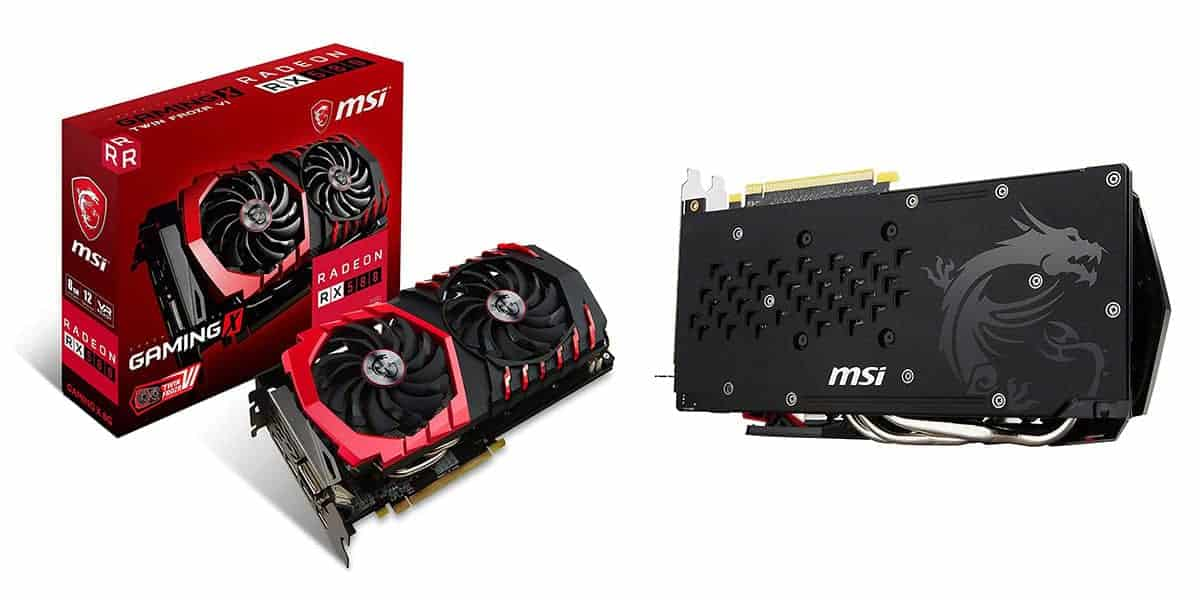Best Value Graphics Card – RX 580 (8GB)
