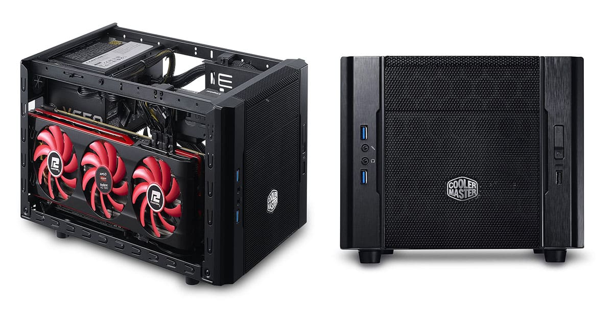 CoolerMaster Elite 130 – Best Budget Mini-ITX Cube