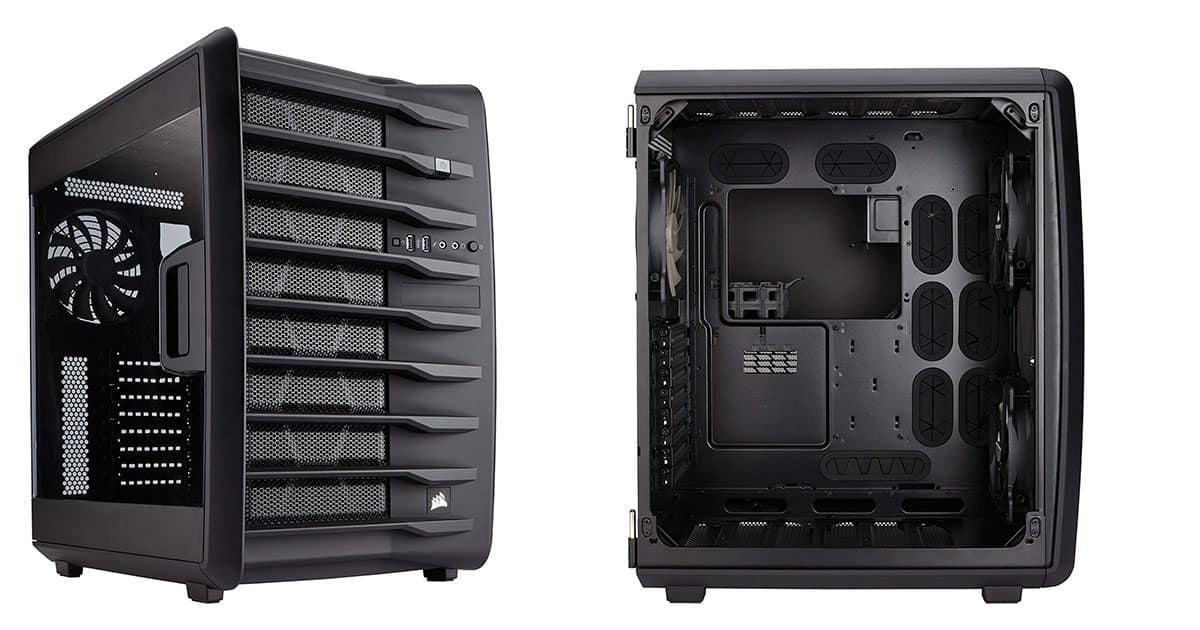 Corsair Carbide Air 740 - Best ATX Cube