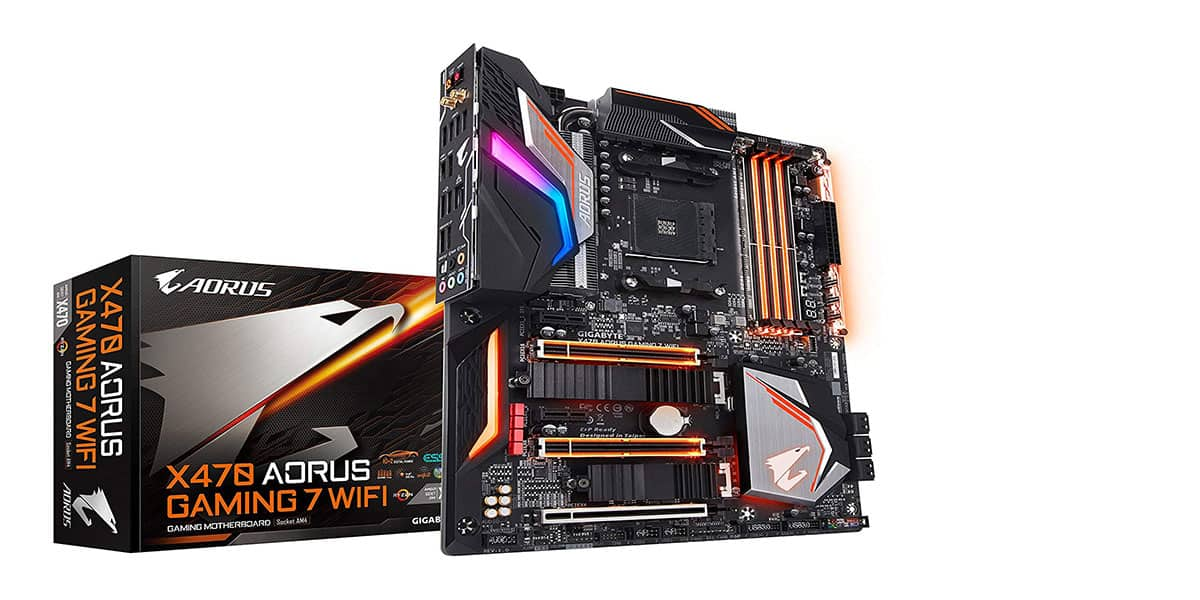 Gigabyte X470 Aorus Gaming 7 WiFi – Best High-end X470 Motherboard