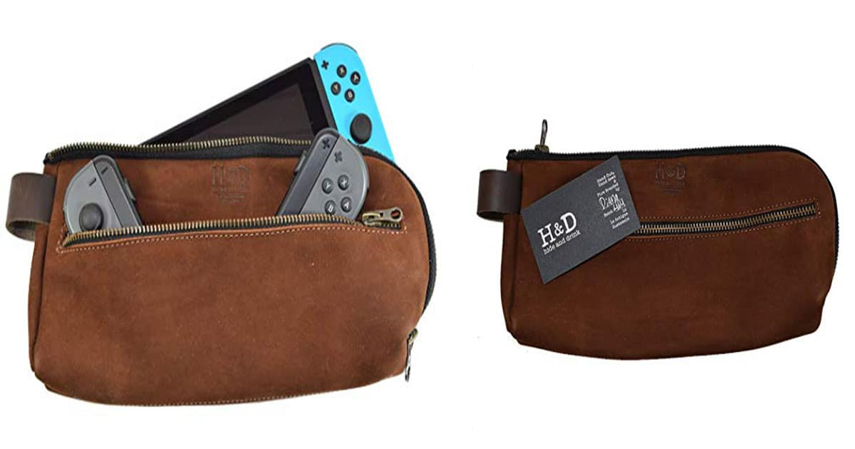 Hide & Drink Leather Nintendo Switch Case – Best Leather Nintendo Switch Case
