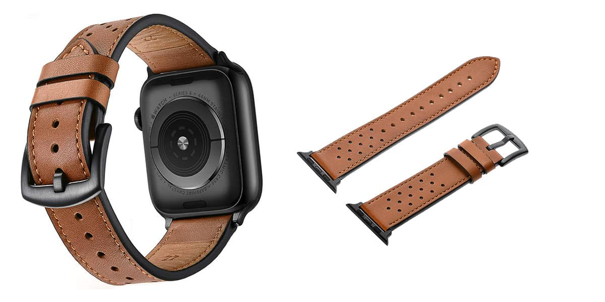 Mifa's leather band for the Apple Watch