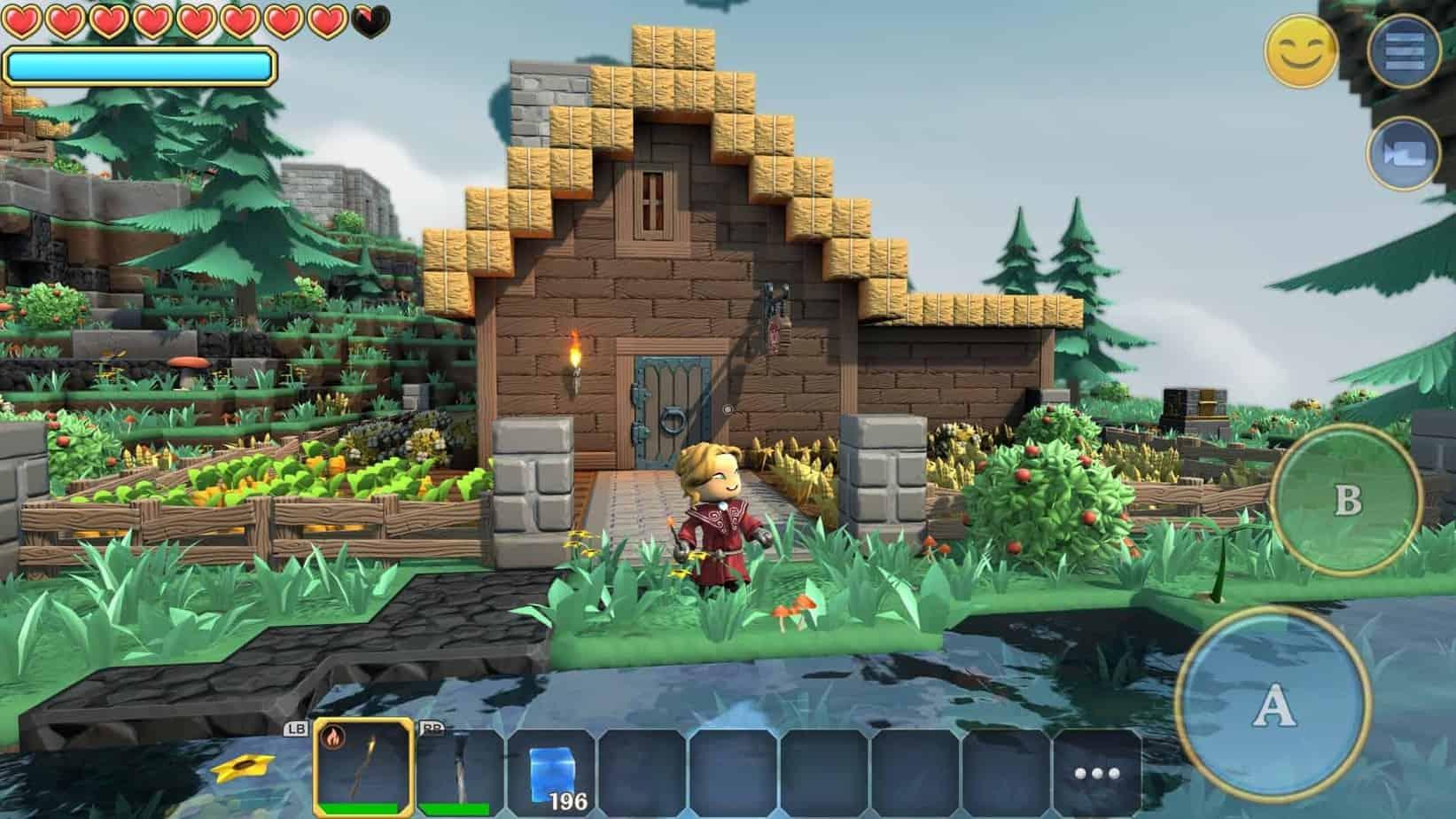 Sandbox game Portal Knight