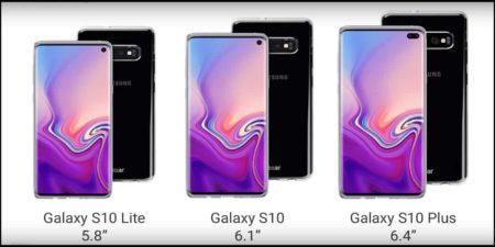 Samsung Galaxy S10 Leakes