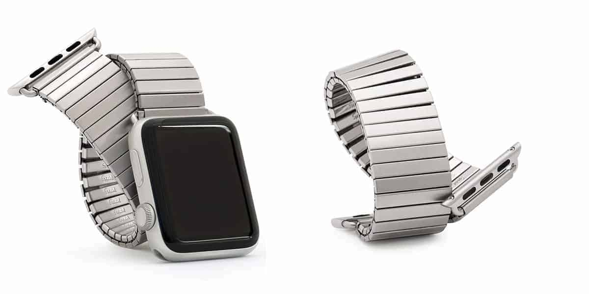 Speidel's Twist-O-Flex band for the Apple Watch