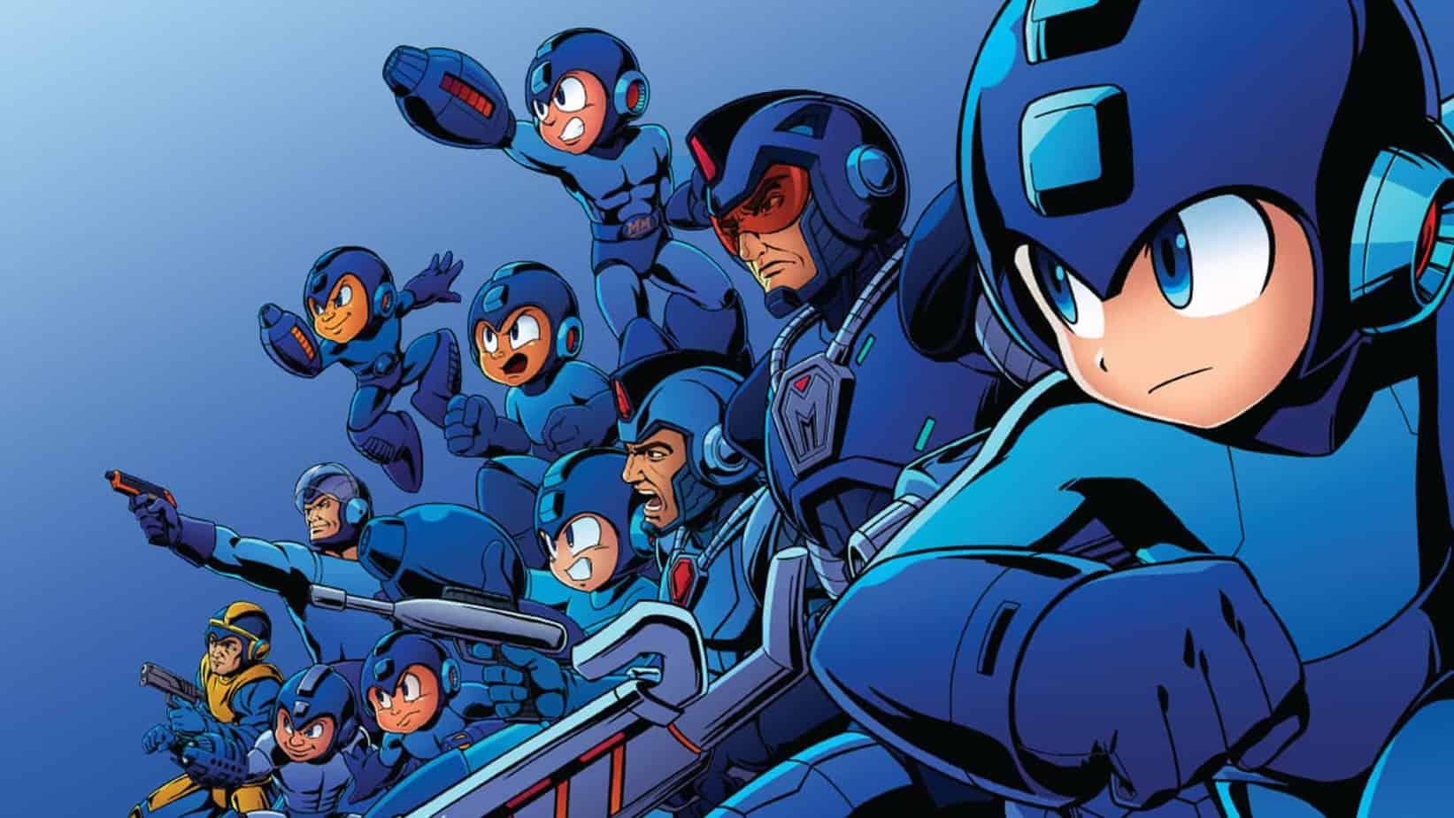 Capcom's Mega-Man franchise