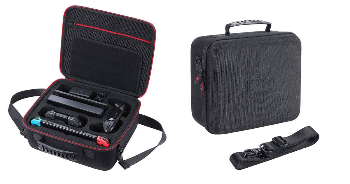 Zadii Nintendo Switch Travel Case