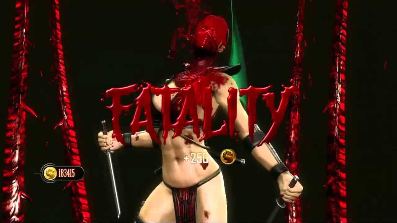 Mortal Kombat 9 Scarlet