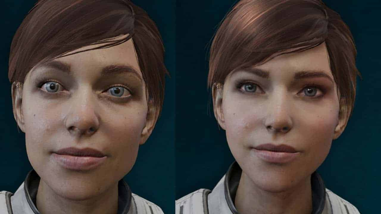 Mass Effect Andromeda buggy faces