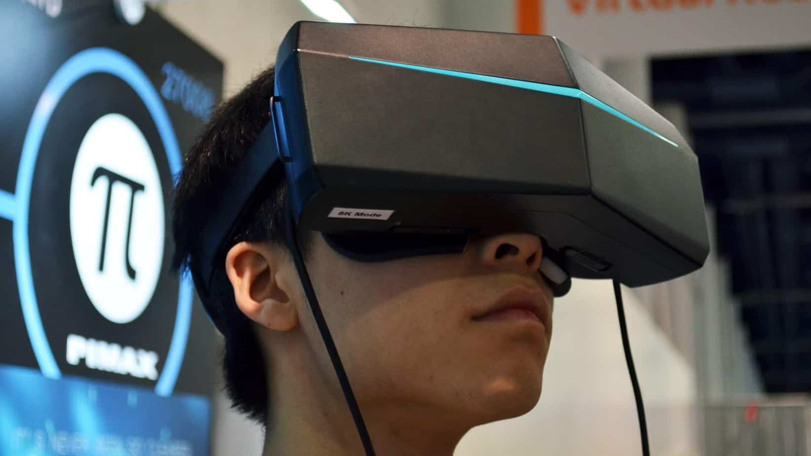 Primax 8K VR headset