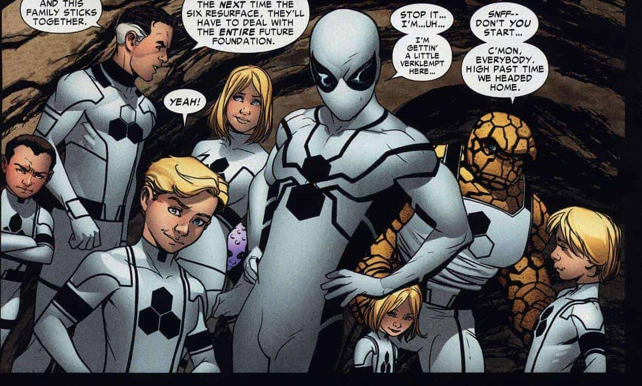Spiderman Future Foundation Suit