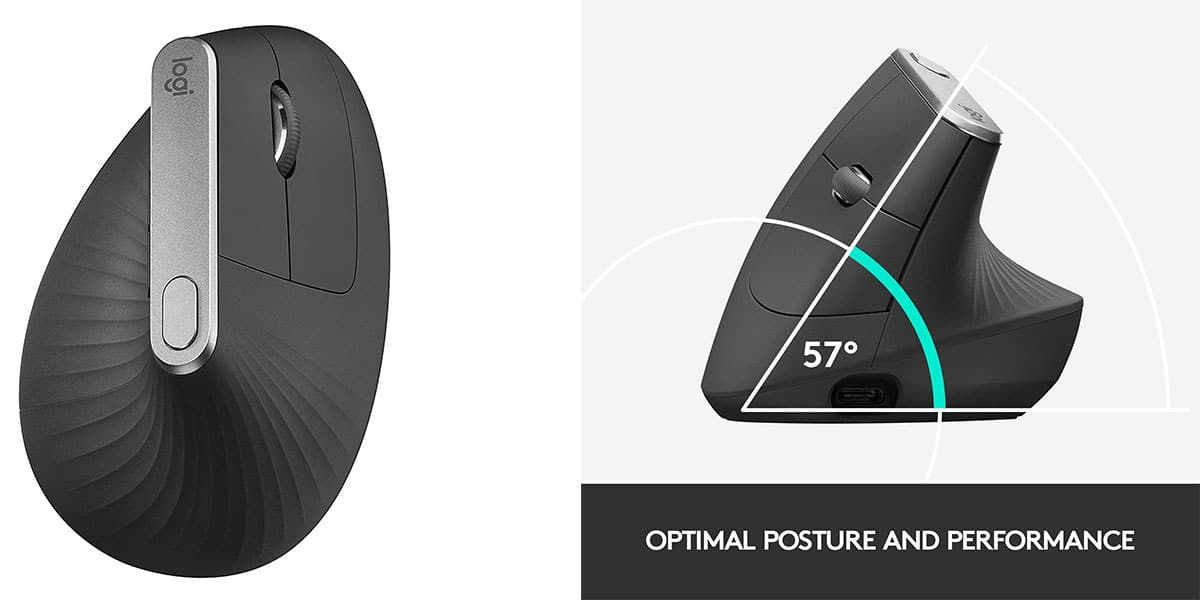 Logitech MX Vertical: Best Ergonomic Mice