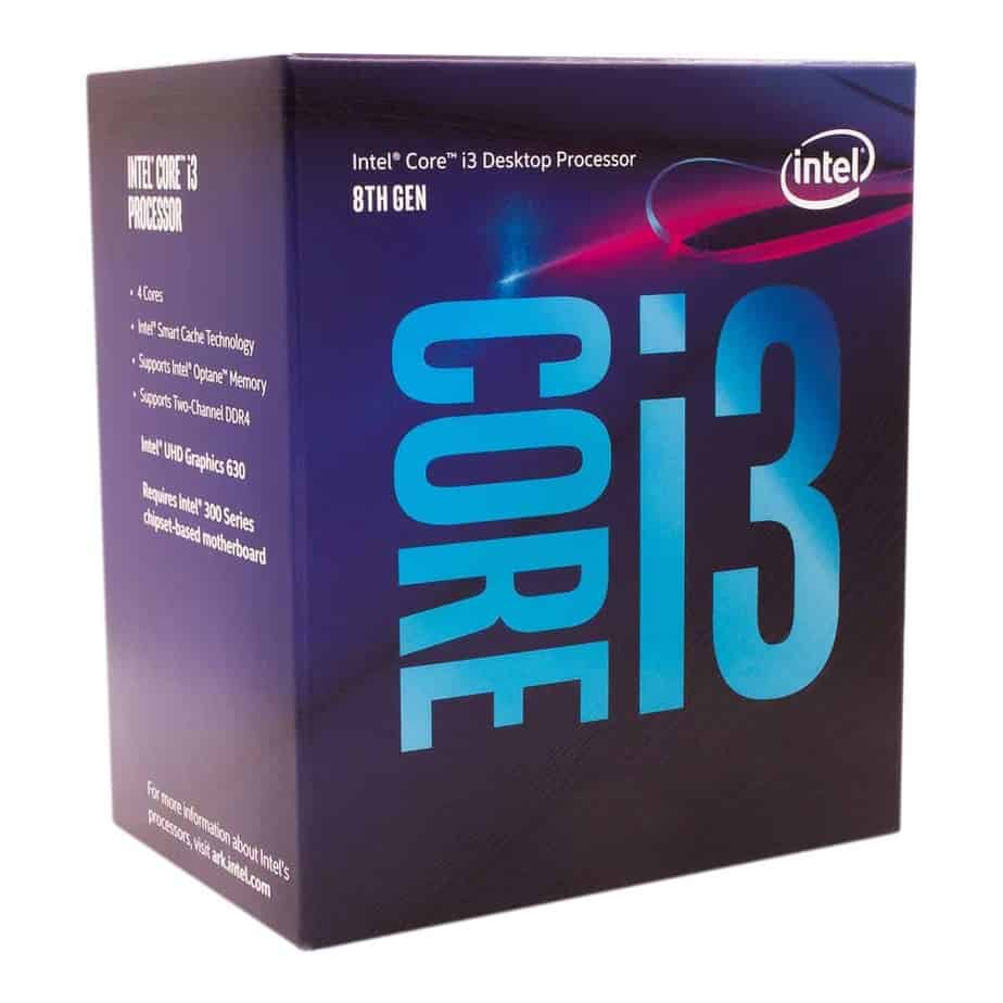 Intel Core i3-8100 Quad-Core Processor
