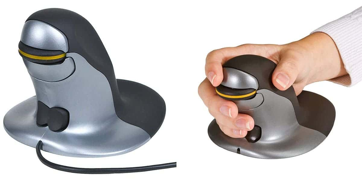 Penguin Ambidextrous Vertical Mouse: Best Ambidextrous Mouse