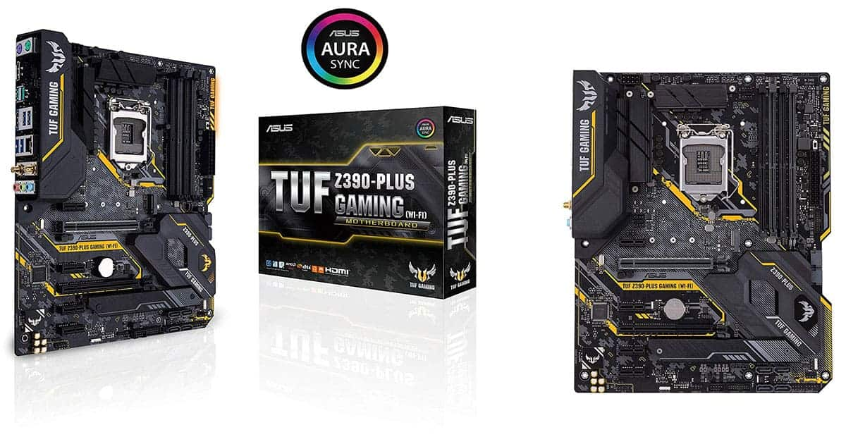 ASUS TUF Z390-Plus Gaming – Best Gaming Intel Motherboard