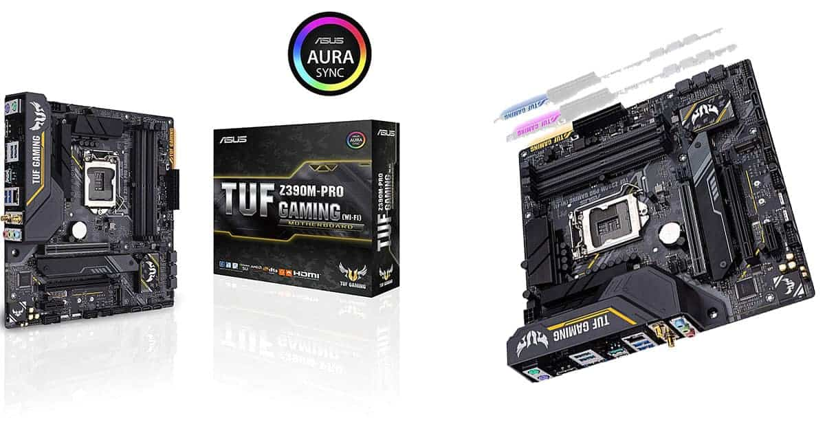 ASUS TUF Z390M-Pro Gaming – Best Overall Micro ATX Motherboard
