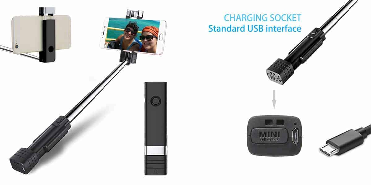 Atongm's Mini Bluetooth Selfie Stick