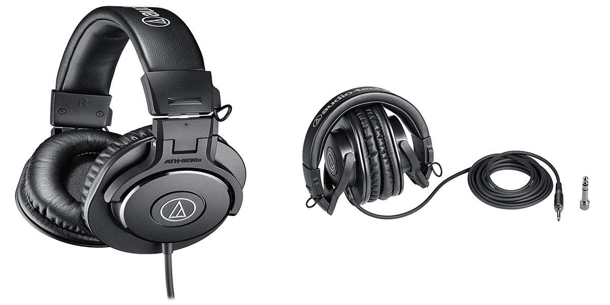 Audio-Technica M30X – Most Affordable Audiophile Headphones
