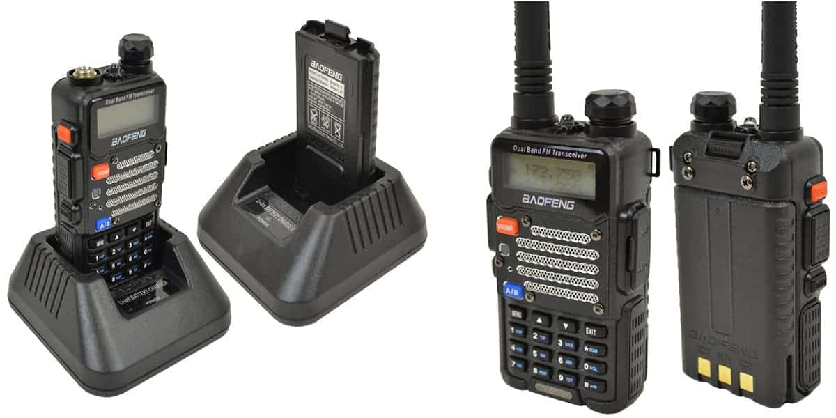 BaoFeng UV-5R Dual Band Two-Way Radio