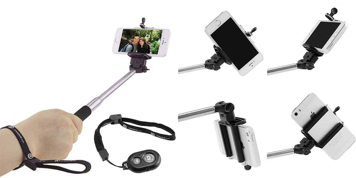 CamKix's Bluetooth Selfie Stick