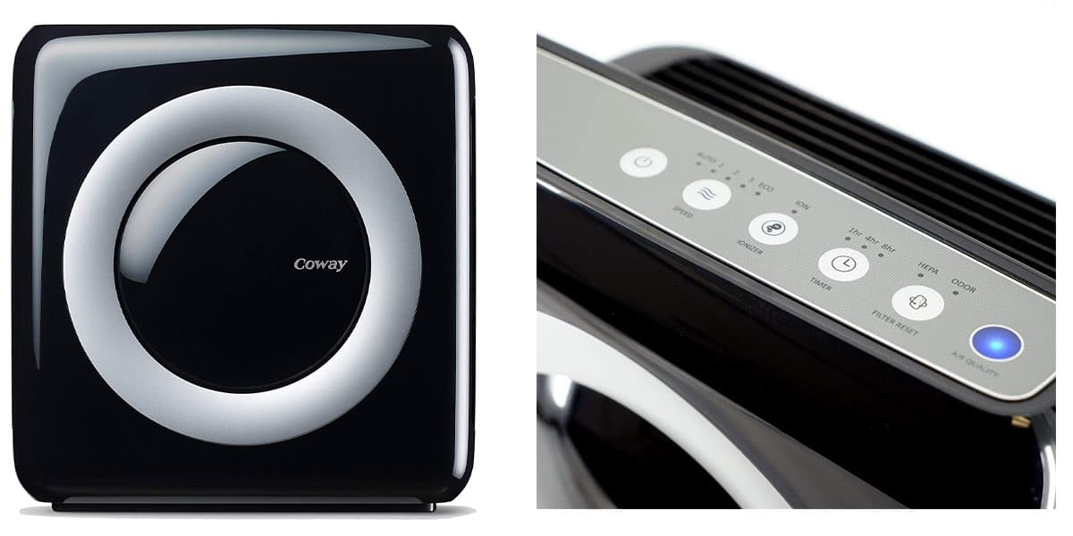 Coway AP-1512HH Mighty Air Purifier – Best Eco-friendly air purifier smoke remover