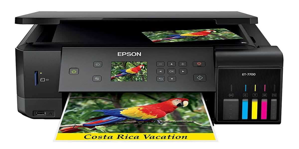 Epson Expression ET-7700 – Highly Ink Efficient