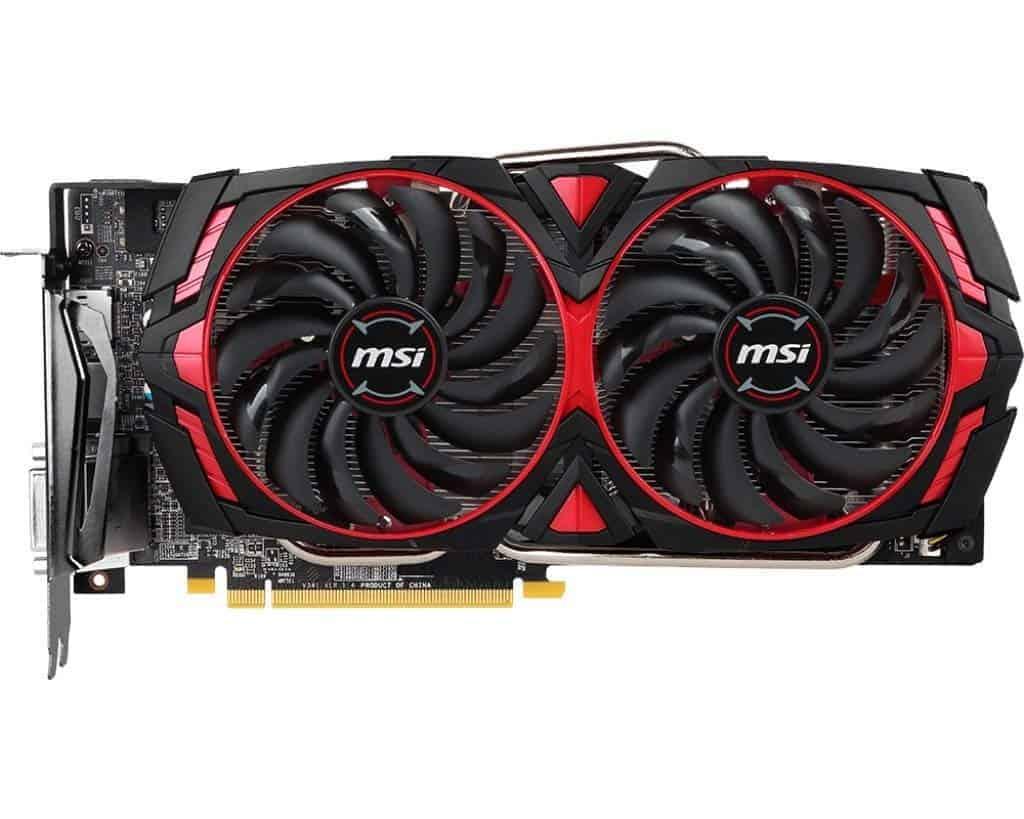 MSI RX 580 8GB ARMOR MK2